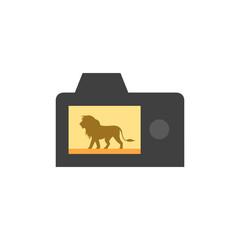 Flat icon - Camera