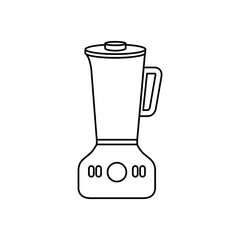 kitchen blender isolated icon