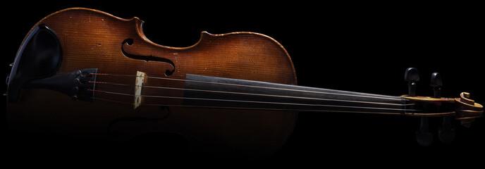 Old Antique Wooden Violin