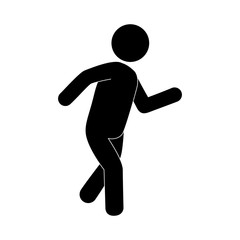 human figure silhouette icon