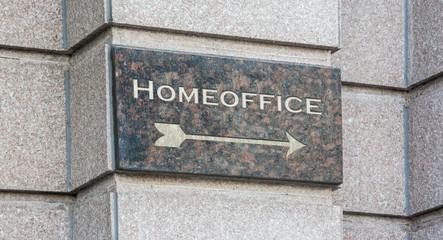 Schild 204 - Homeoffice