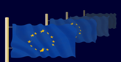 Flags of European Union