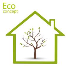 Eco house.