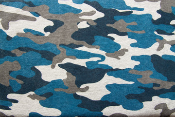 Soldier camouflage fabric texture