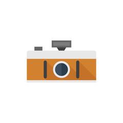 Flat icon - Panorama camera