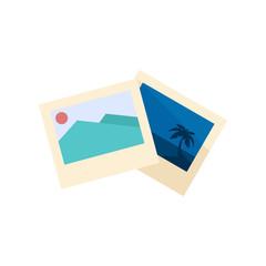 Flat icon - Photos