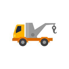 Flat icon - Tow
