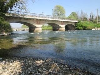 Comazzo,ponte sul fiume Adda