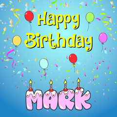 Happy birthday mark
