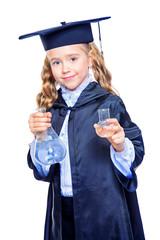 smart schoolgirl science