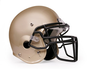 Football Helmet - Gold