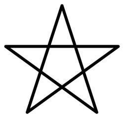 Pentagramm Vektor