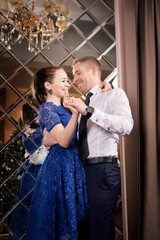 Love couple dancing. Happy romantic relationship