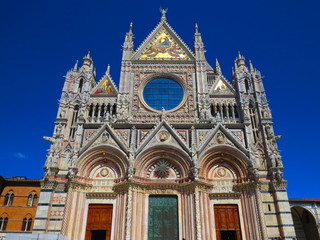 the Dome of Siena, Italy
