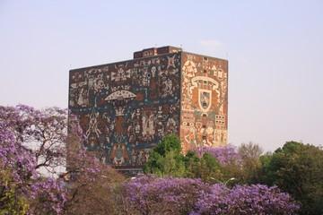 Bibliothèque centrale de l'université de Mexico