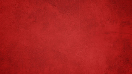 red paint texture on wall background