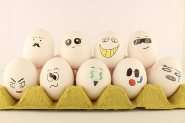 emotional eggs