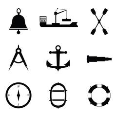 Marine and nautical icon