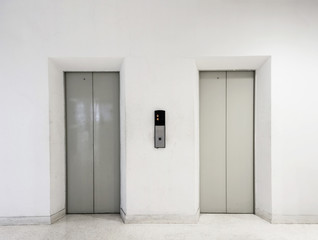 Old passenger elevator