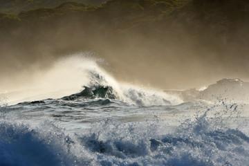 Dramatic seascape on Australian coastline