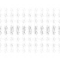 Binary code black and white background