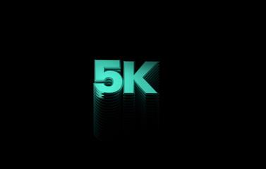 3d illustration 5K format