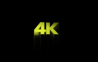 3d illustration 4K format