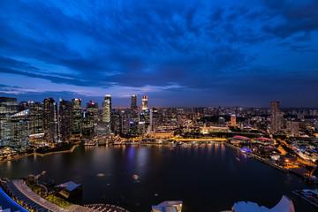 シンガポールの絶景夜景