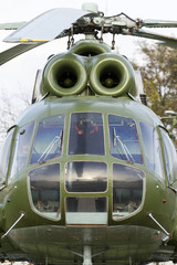 Mi–8 military helicopter