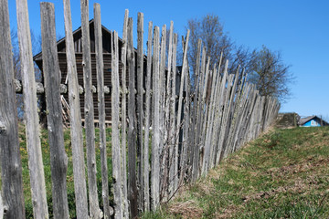 rural rusttic fence