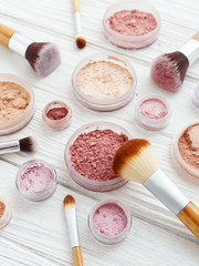 Makeup powder products