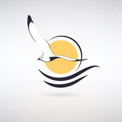 Symbol Seagull