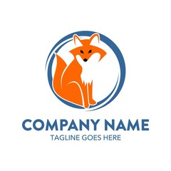 Unique Fox Logo