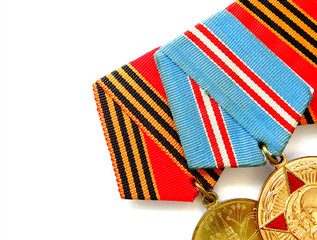 Medals for winning the war.