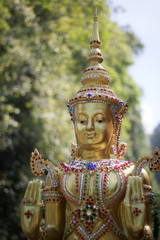 The  Golden Buddha at Thailand