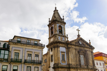 Architecture of Porto, the second largest city in Portugal
