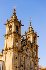 Church in Braga, Portugal.
