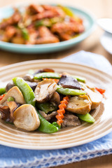 stir fried vegetable,thaifood