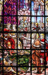 Wall Mural - Stained Glass - Saint John the Baptist