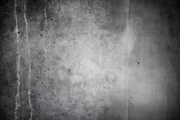 Alte, graue Mauer aus Beton als Hintergrund