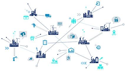 Supply Chain Management Concept