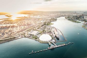 Los Angeles harbor Fototapete