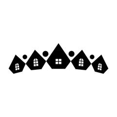 home logo vector. diamond icon.