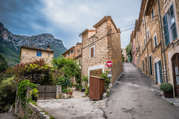 Deia - old village in the mountain of Mallorca, Spain - Europe