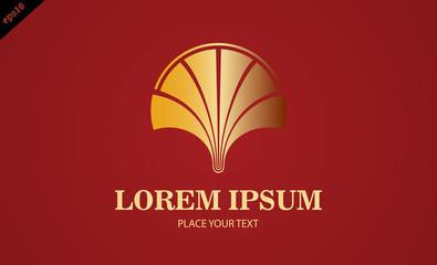 gold lime vector logo