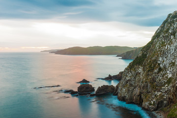 Nugget Point in Southern New Zealand