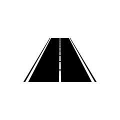Road icon, vector