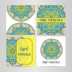 Vintage set decorative elements. Card or invitation, hand drawn background. Oriental pattern, vector illustration. Islam, Arabic Indian turkish motifs