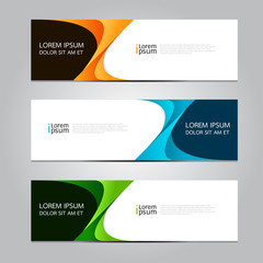 Vector design Banner background.