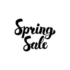 Spring Sale Handwritten Lettering